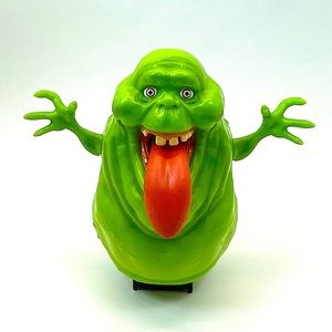 GHOSTBUSTERS SLIMER PULL TONGUE SCREAMING FIGURE